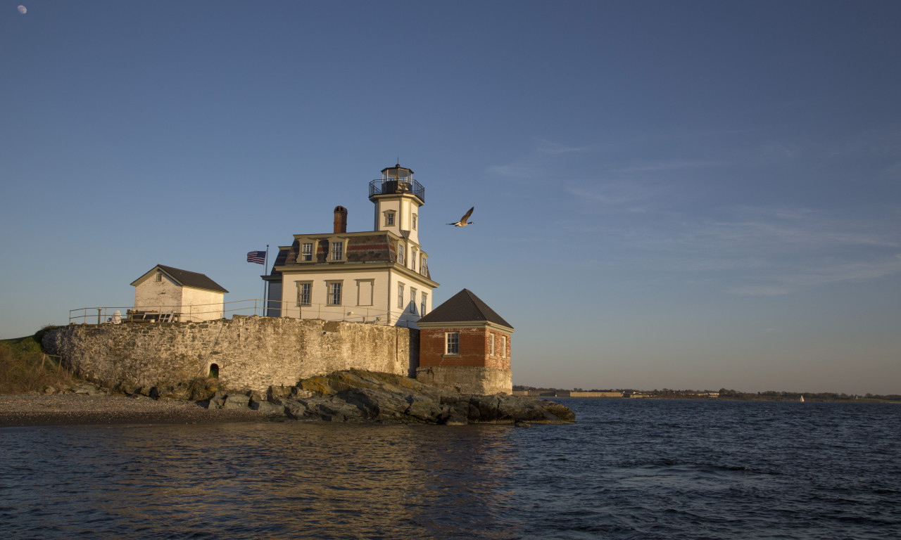 Rose Island Lighthouse Newport RI