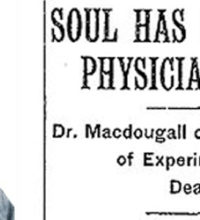 Dr. MacDougall Weighs a Soul