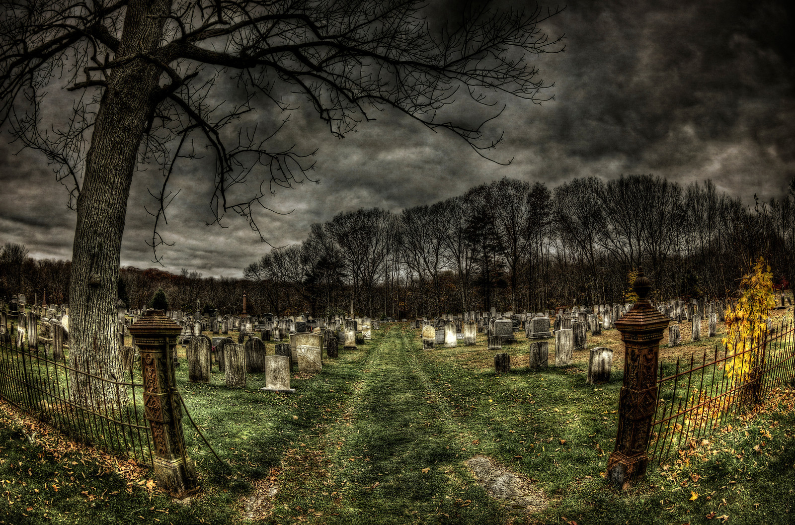 Union Cemetery by Frank Grace