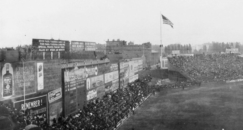 Fenway's Wall circa 1914
