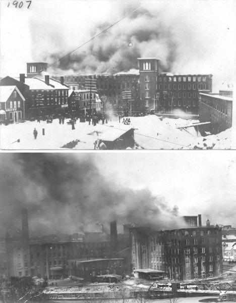 Cocheco Mill Fire