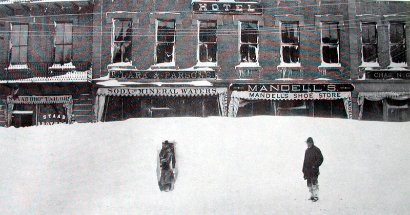The Blizzard of 1888 - Massachusetts