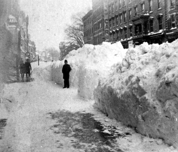 The Blizzard of 1888 - Springfield, MA