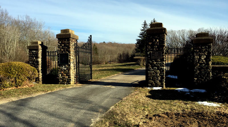 Evergreen Cemetery Gates