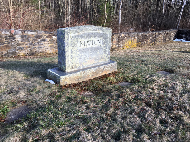 Newton Family Graves