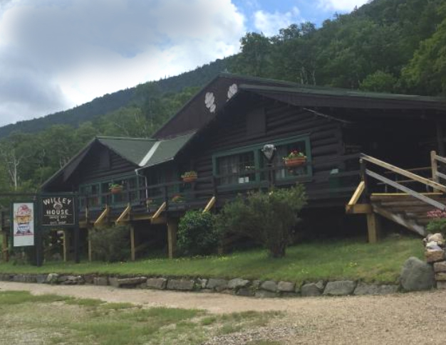 The Willey House today in Crawford Notch, New Hampshire.
