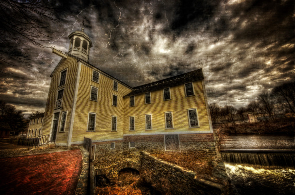 Slater Mill in Pawtucket, Rhode Island - Photo by Frank Grace