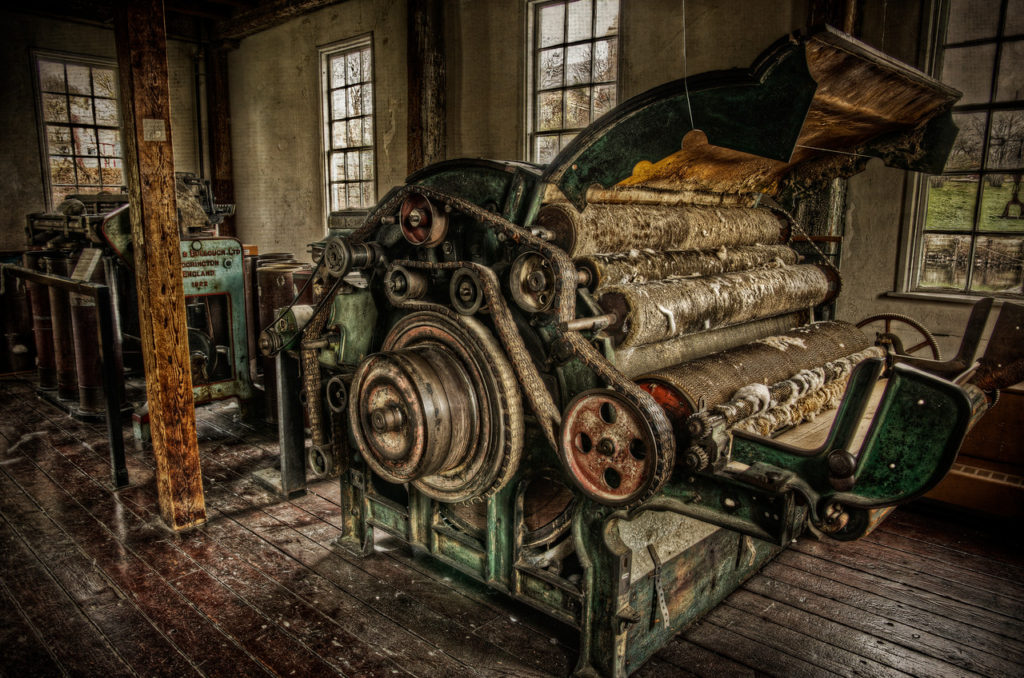 The Machines of Slater Mill - Photo by Frank Grace
