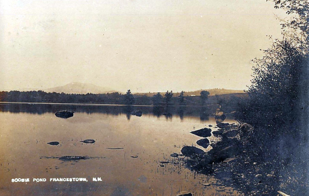 Scoby Pond in Francestown, New Hampshire