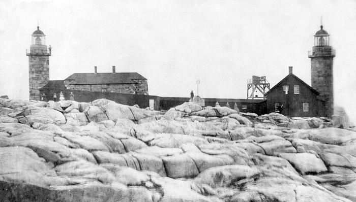 Matinicus Rock Lighthouse 1859