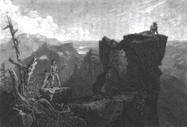 The Death of Chief Chocorua.
