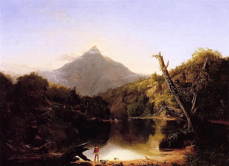 Mt. Chocorua 1827 painting by Thomas Cole
