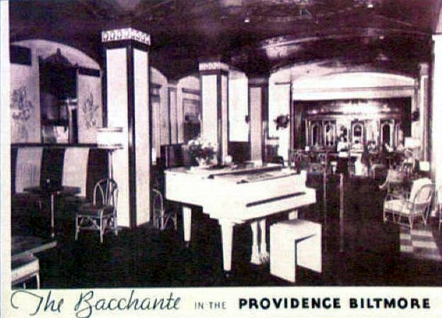 The Bacchante Room in the Biltmore Hotel.