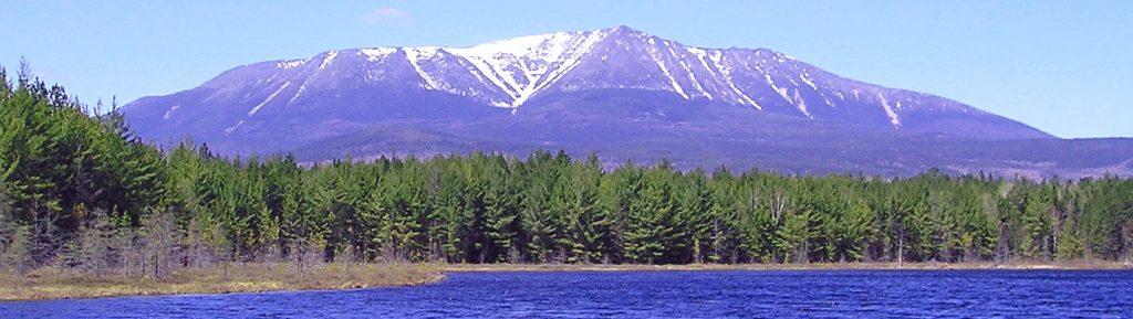 Mt. Katahdin in central Maine