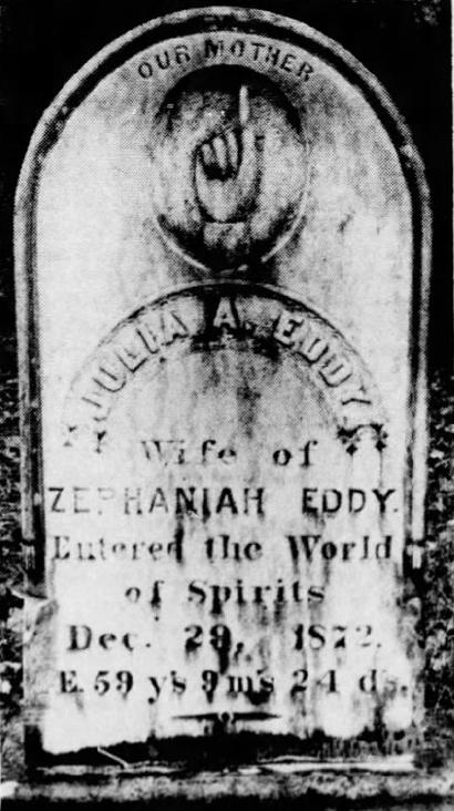 Julia Eddy's Grave
