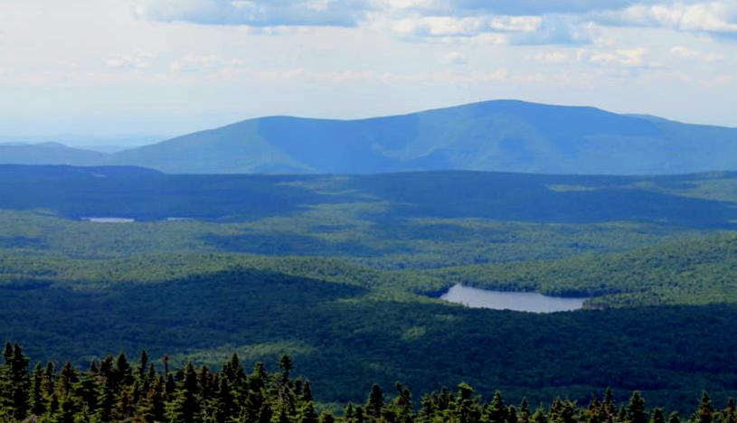 Glastenbury Mountain near Bennington, Vermont.
