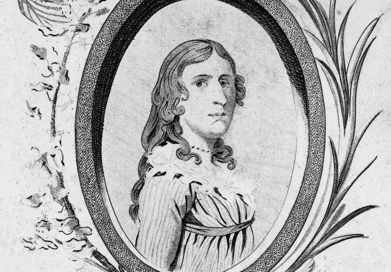 Deborah Sampson of Sharon, Massachusetts.