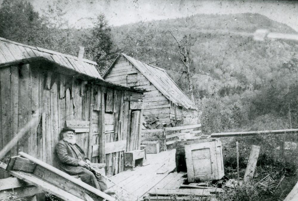 English Jack - the Hermit of Crawford Notch