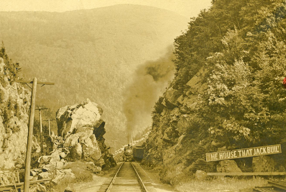 Crawford Notch railroad.
