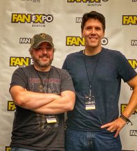 Ray Auger and Jeff Belanger speak at Boston's FanExpo 2019.