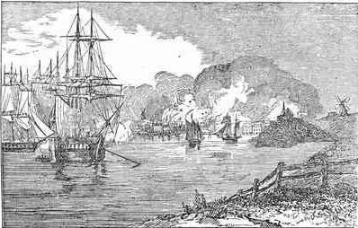 Lt. Mowat's Revenge on Falmouth, Maine.
