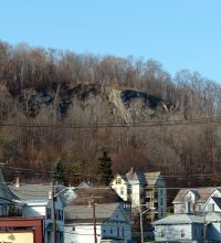 Coca Cola Ledge in North Adams, Massachusetts, is said to be home to a monster.