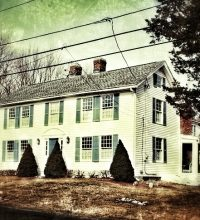 "Randolph Beebe House in Wilbraham, Massachusetts, was the inspiration for the house in H.P. Lovecraft's ""The Dunwich Horror."""