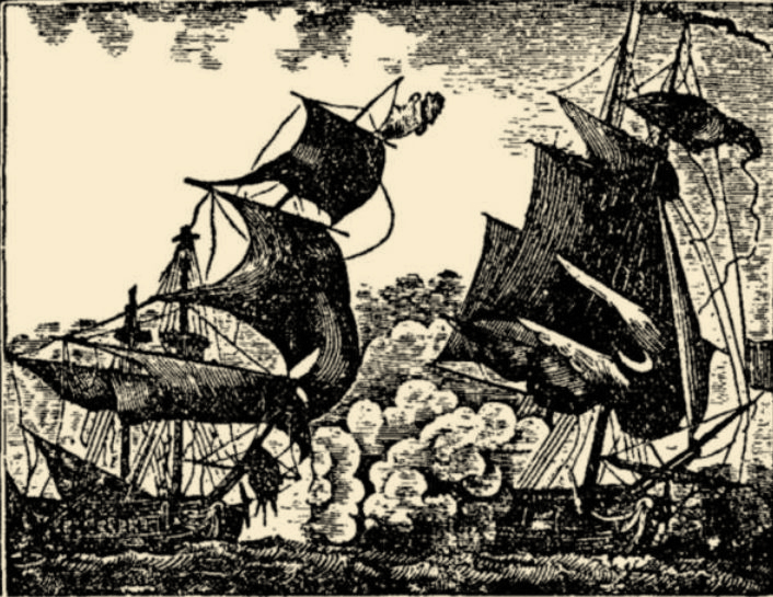 Pirates were scourge of the seas around Newport, Rhode Island.