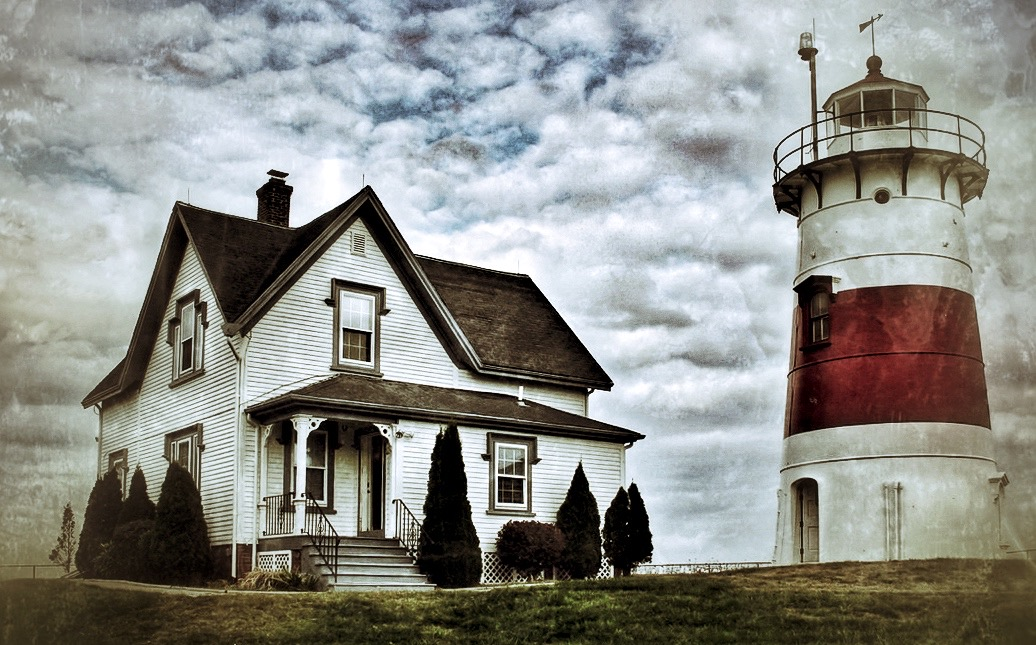 Stratford Point Lighthouse in Stratford, Connecticut