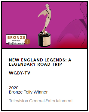New England Legends is a 2020 winner of a Telly Award