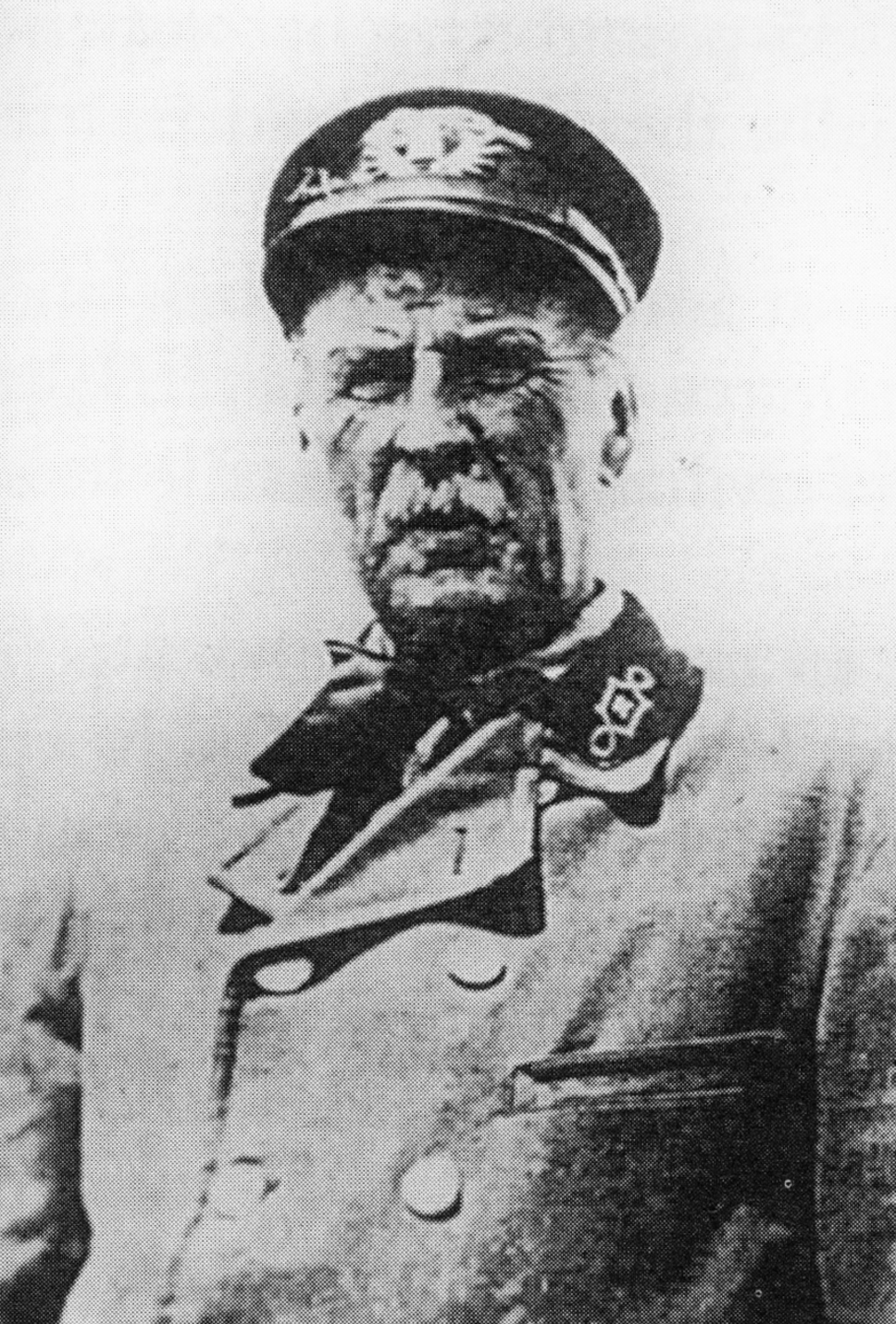 "Stratford Point Lighthouse keeper Theodore ""Theed"" Judson."