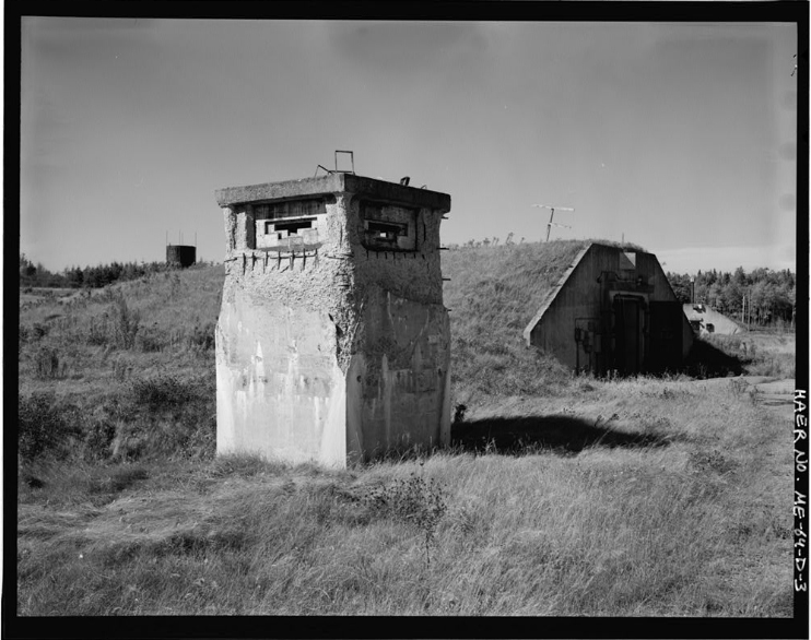 The Guard Tower near Building 260 at Loring Air Force Base. Circa 1968 - Photo courtesy of the Library of Congress.