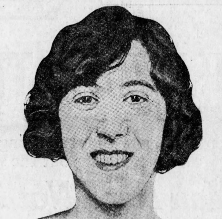 Hilda Stone - The Bootlegger Queen of Vermont - image from the Feb. 11, 1926 Minneapolis Star newspaper.