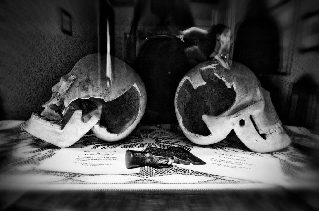 The skulls. Photo by Frank Grace.
