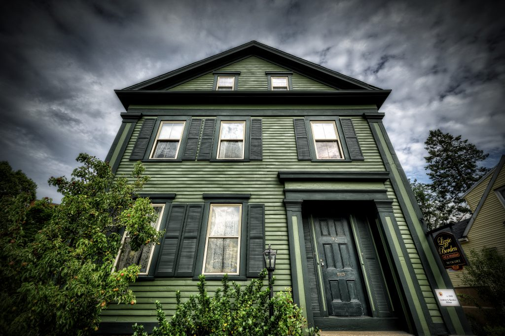 The Lizzie Borden Bed and Breakfast in Fall River, Massachusetts. Photo by Frank Grace.