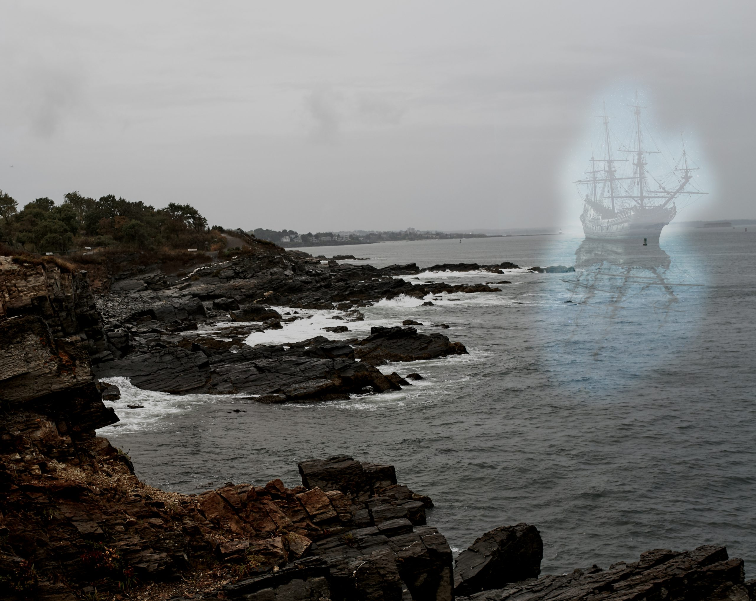 The Ghost Ship Dash out of Freeport, Maine.