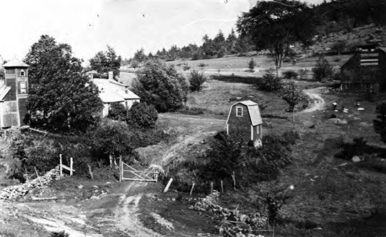 The Goodrich farm circa 1900.