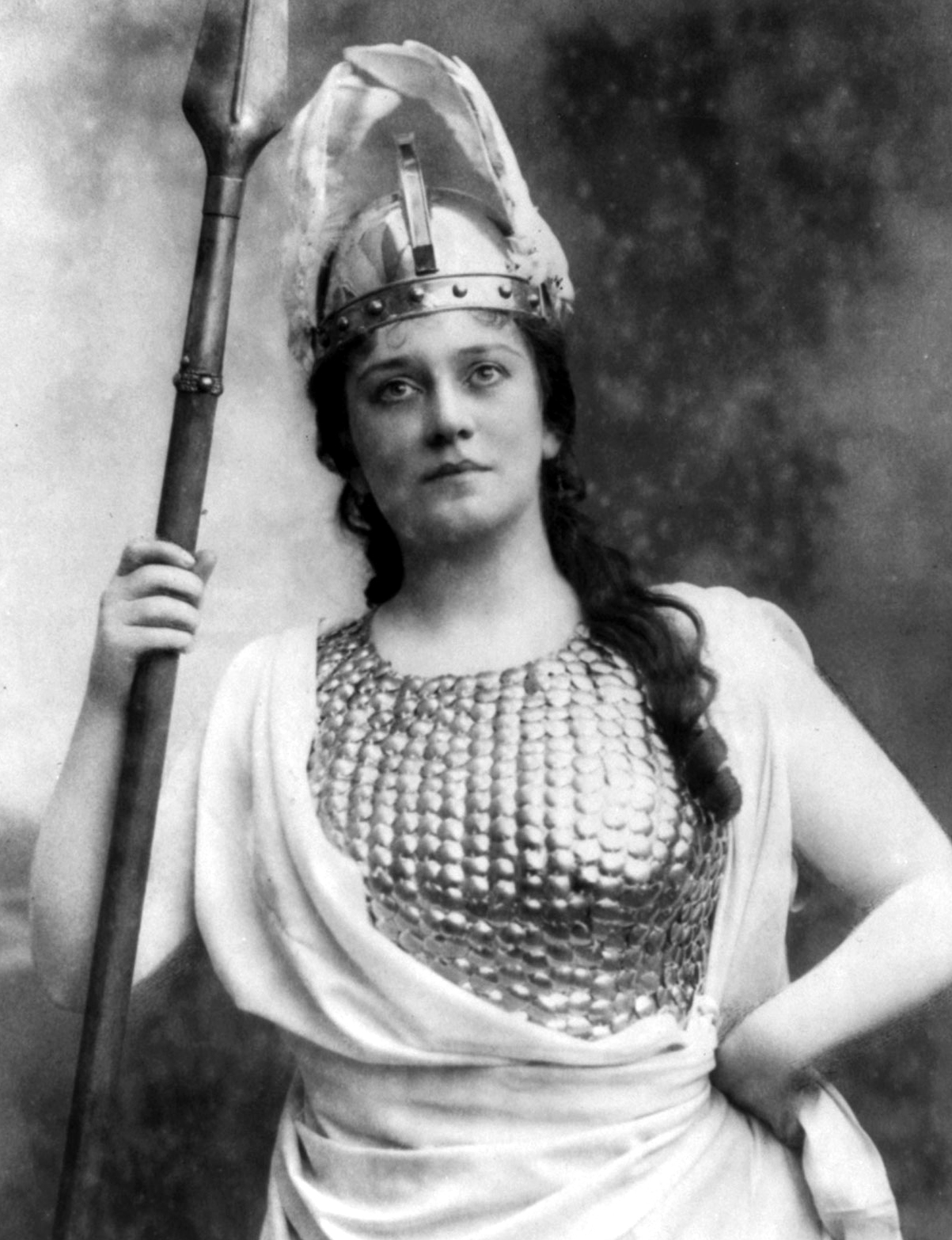 Lillian Nordica as Brünnhilde in Wagner's The Ring.