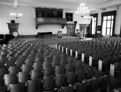 Nordica Auditorium at the University of Maine, Farmington.
