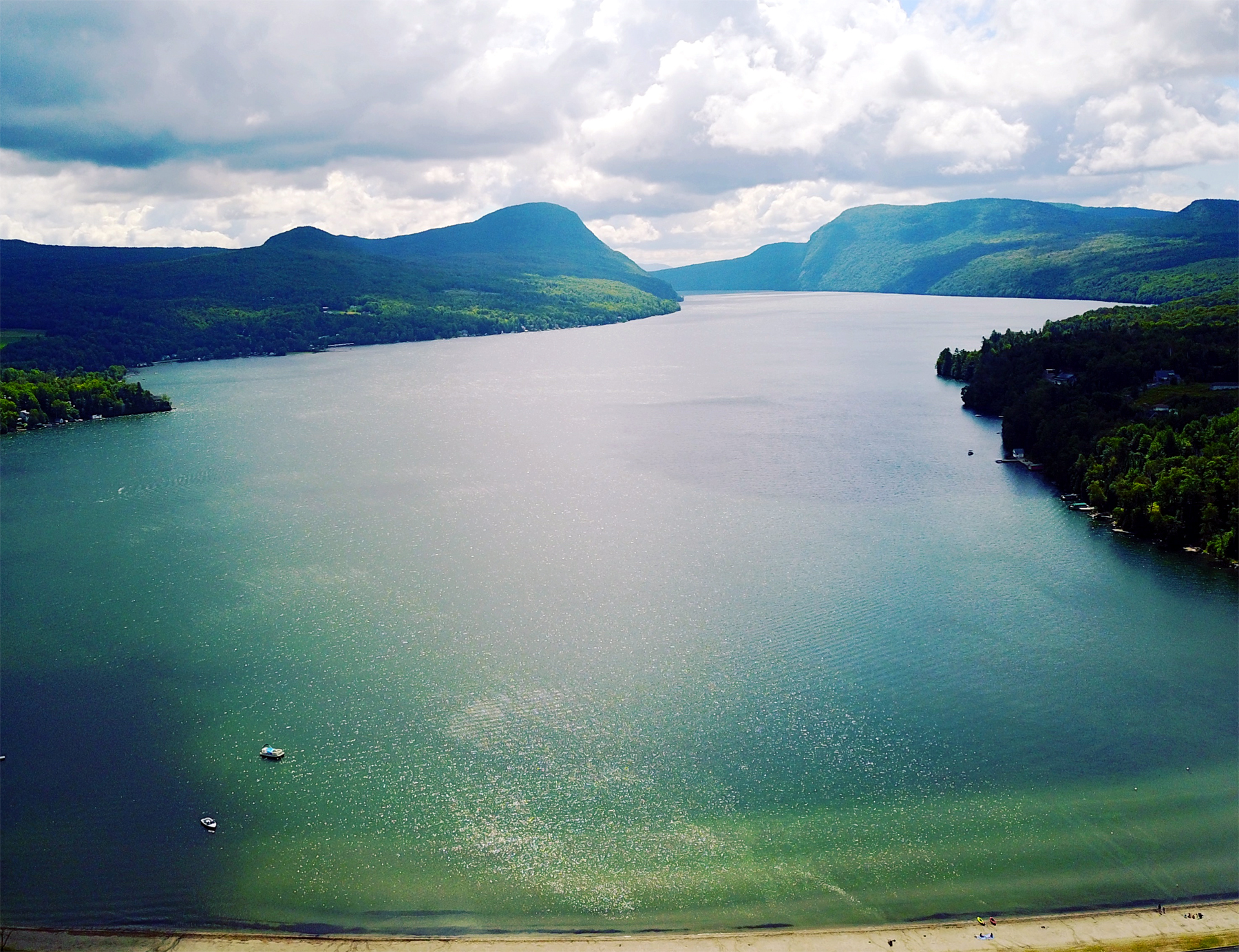 Lake Willoughby photo by Nathaniel Broderick.