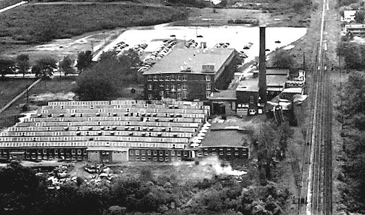 The Queen City Cotton Mill in Burlington, Vermont.
