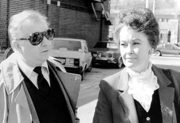 Ed and Lorraine Warren.