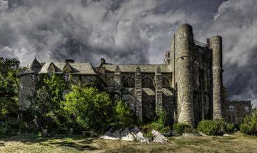Hammond Castle in Gloucester, Massachusetts. Photo by Frank Grace.