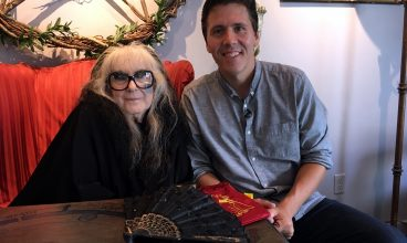 Jeff Belanger chats with Laurie Cabot, the Official Witch of Salem, Massachusetts.
