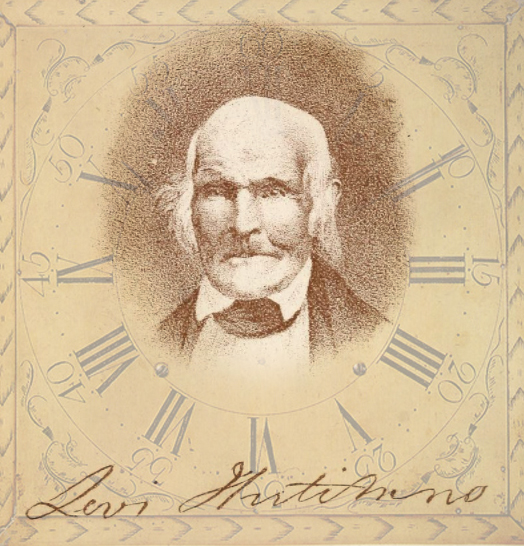 Levi Hutchins or Concord, New Hampshire. The inventor of a torture device.